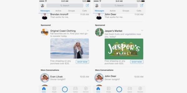 facebook messenger ads 600x300 - Reklamy budou už všude - i v Messengeru