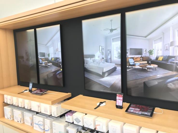 homekit interactive apple store - Vyskúšajte si HomeKit v kamenných predajniach Apple