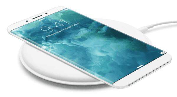 iphone 8 wireless charger concept benjamin geskin 600x330 - iPhone 8 přijde o 4 týdny později, tvrdí analytici
