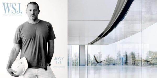 jony ive1 600x300 - Jony Ive se rozpovídal vrozhovoru pro The Wall Street Journal ohledně Apple Parku