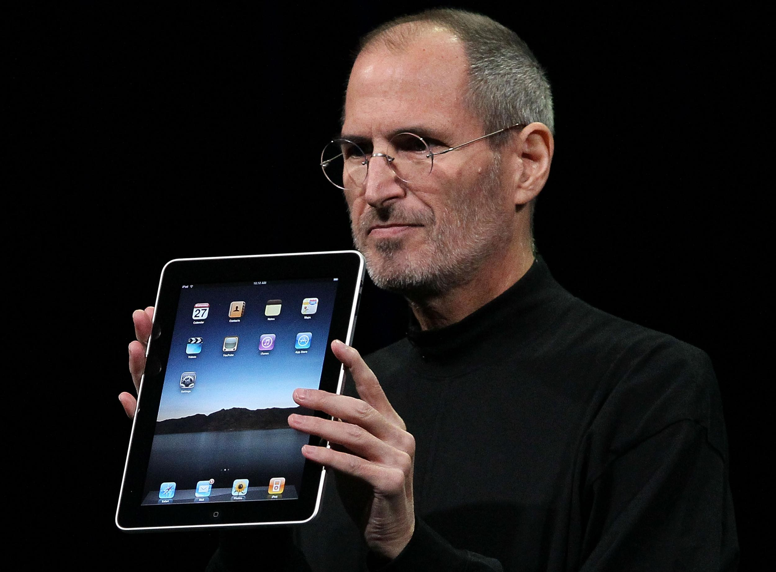 Steve Jobs Flash iPad