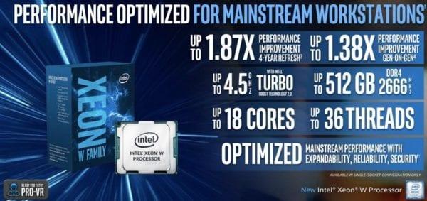 Intel Xeon W 3 600x283 - Intel vydal nové Xeon-W čipy, které budou možná použity v iMacích Pro