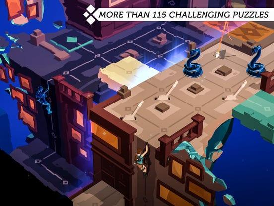 Lara Croft GO - Zlacnené aplikácie pre iPhone/iPad a Mac #37 týždeň