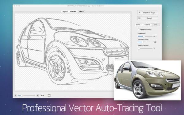 Super Vectorizer 2 600x375 - Zlacnené aplikácie pre iPhone/iPad a Mac #32 týždeň