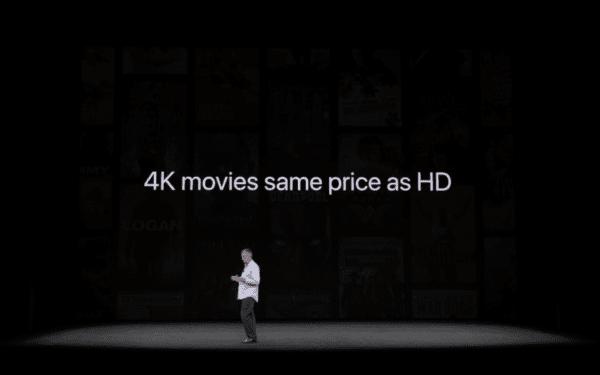 4K Movies Price iTunes Store
