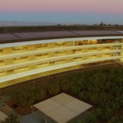 Apple Park září 240x240 - Podívejte se na nové dron video z Apple Parku
