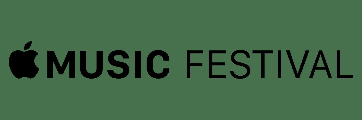 apple music festival logo