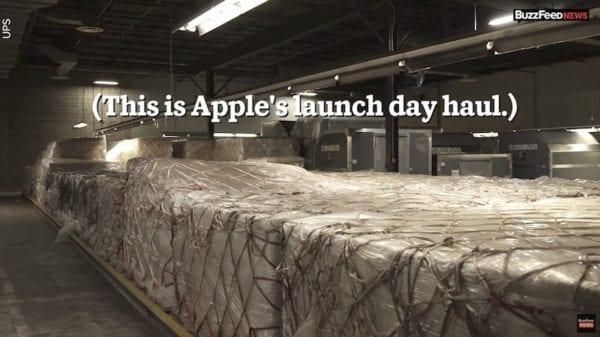 Den prodejů 600x337 - Jak to vypadá v Applu při prvním dni prodejů iPhonu 8?