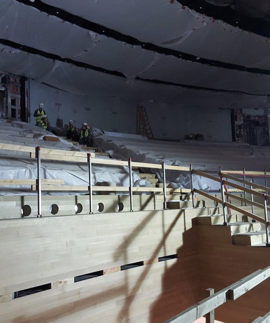 Divadlo Steva Jobse 1 - Podívejte se na vzhled divadla Steva Jobse ještě před prvním oficiálním otevřením!