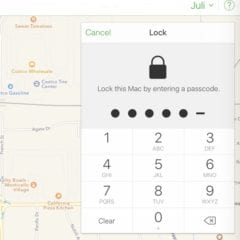 Lock this Mac 240x240 - Hackeři zneužili funkci Find my iPhone k vyžadování výkupného. Jak se chránit?