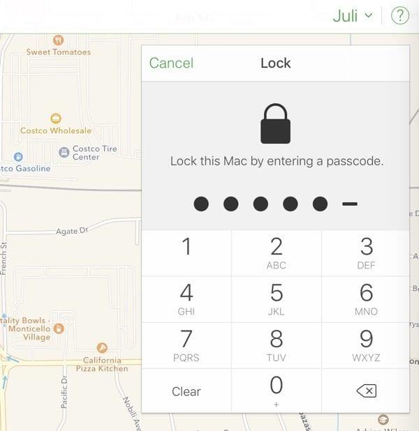 Lock this Mac 600x618 - Hackeři zneužili funkci Find my iPhone k vyžadování výkupného. Jak se chránit?