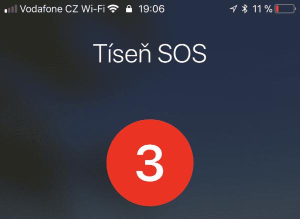 Tíseň SOS 600x439 - Jak v nouzi nenápadně deaktivovat Touch ID nebo Face ID pomocí SOS funkce?