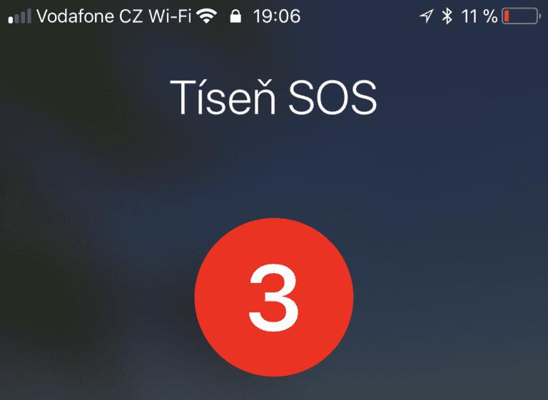 Tíseň SOS 768x561 - Jak v nouzi nenápadně deaktivovat Touch ID nebo Face ID pomocí SOS funkce?