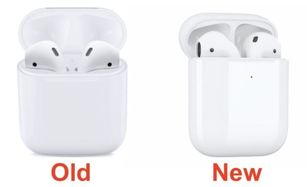 AirPods Late 2017 Wireless Charging