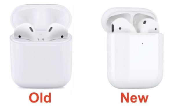 airpods 1 and 2 600x366 - Apple vypnul svůj Apple Online Store kvůli  přidávání nových produktů