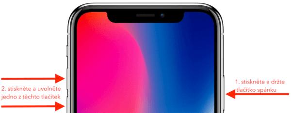 iPhone X screenshot 600x234 - Jak udělat screenshot na iPhonu X, když už nemá Home Button?