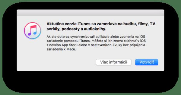 iTunes 12.7 No App Store