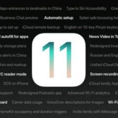 ios 11 feature list 600x252 240x240 - Apple právě vydal první betu iOS 11.1 pro vývojáře