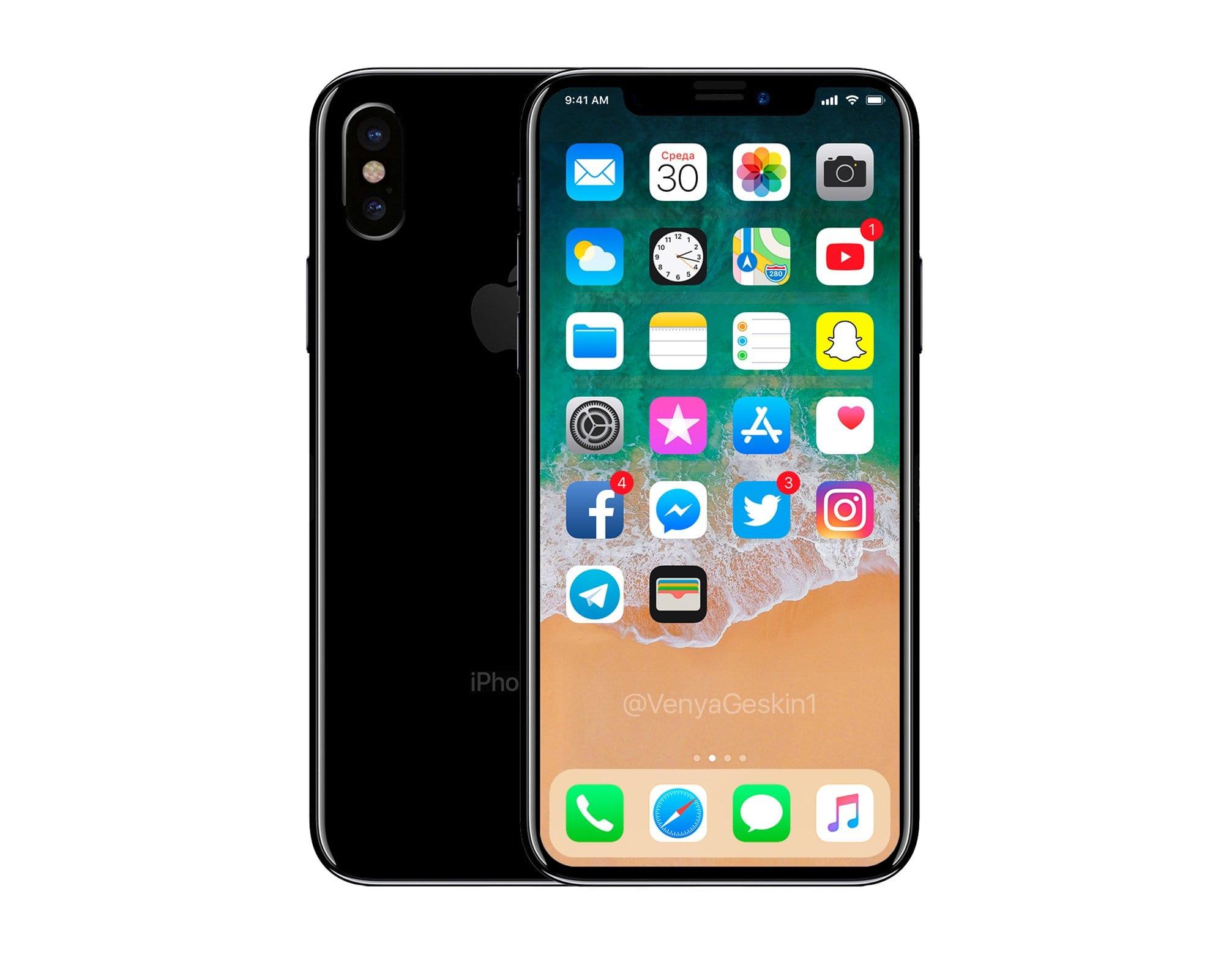 iphone 8 dock mockup