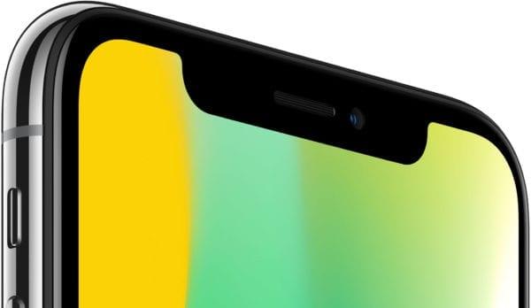 iphone x sensors camera front 600x348 - iPhone X: Na YouTube sa začali objavovať prvé videá