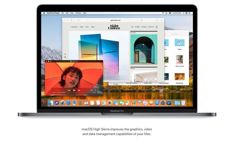 macOS High Sierra - Apple vydal tretiu betu macOS High Sierra 10.13.1