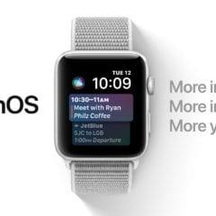 watchOS 4 Siri 240x240 - Další dnešní novinkou je 1. vývojářská beta verze systému watchOS 4.1