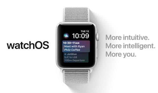 watchOS 4 Siri 600x355 - Apple vydal watchOS 4, prináša nové ciferníky, dizajnové zmeny a rozšírené možnosti tréningu