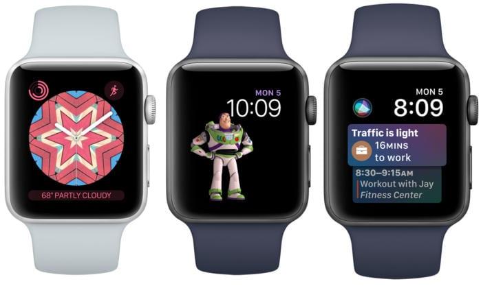 watchos4 faces 100725014 large - Apple vydal watchOS 4, prináša nové ciferníky, dizajnové zmeny a rozšírené možnosti tréningu