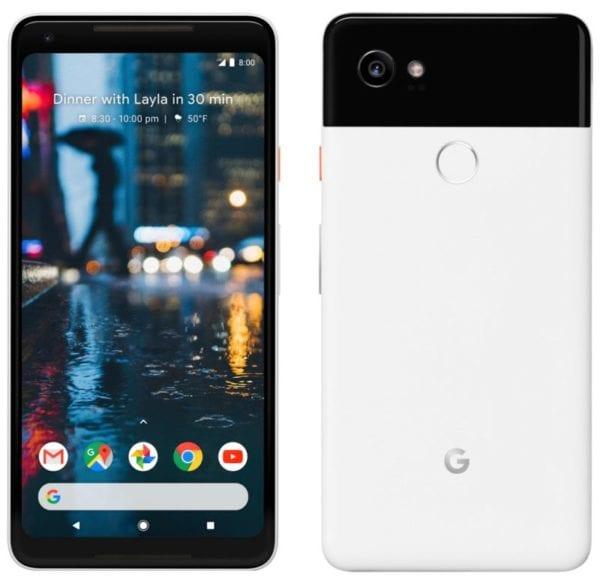 Google Pixel 2 XL 600x581 - Na internet unikly fotky Google Pixel 2 XL s minimálními rámečky