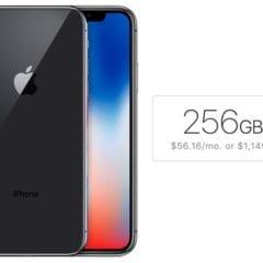 iPhone X 256GB 240x240 - Více než polovina budoucích majitelů iPhonu X si zvolí 256 GB variantu