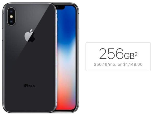 iPhone X 256GB 600x455 - Právě byly zahájeny předobjednávky na iPhone X