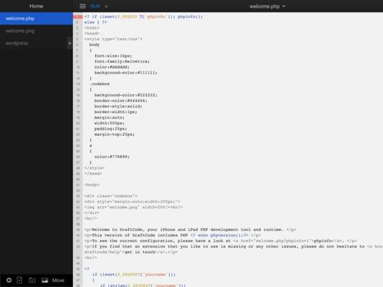 DraftCode Offline PHP IDE - Zlacnené aplikácie pre iPhone/iPad a Mac #45 týždeň