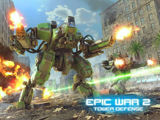 Epic War TD 2 - Zlacnené aplikácie pre iPhone/iPad a Mac #47 týždeň