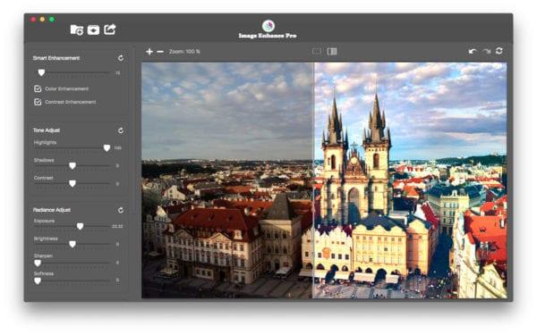 Image Enhance Pro 600x375 - Zlacnené aplikácie pre iPhone/iPad a Mac #45 týždeň