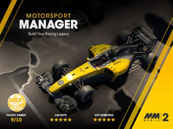 Motorsport Manager Mobile 2 - Zlacnené aplikácie pre iPhone/iPad a Mac #51 týždeň