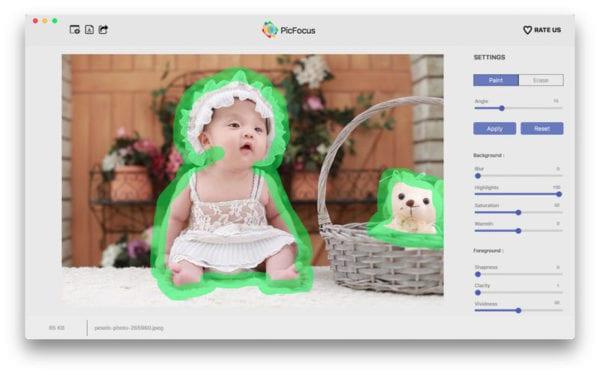 PicFocus 600x375 - Zlacnené aplikácie pre iPhone/iPad a Mac #45 týždeň