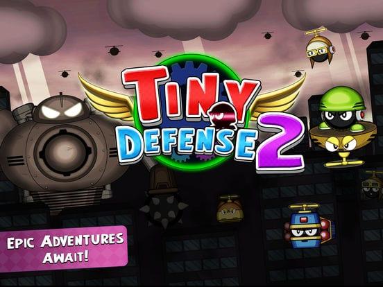Tiny Defense 2 - Zlacnené aplikácie pre iPhone/iPad a Mac #45 týždeň