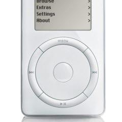 ipod 240x240 - Na eBayi sa v aukcii objavil vzácny iPod prvej generácie