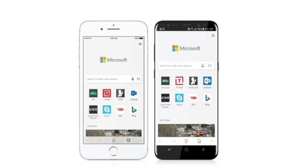 microsoft edge ios android 600x338 - Microsoft Edge je už dostupný pre iOS
