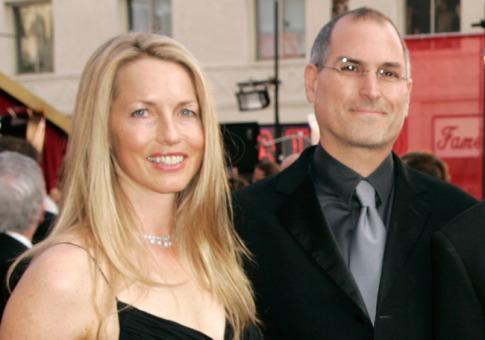 Laurene a Steve Jobsovi