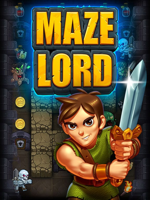 Maze Lord - Zlacnené aplikácie pre iPhone/iPad a Mac #51 týždeň