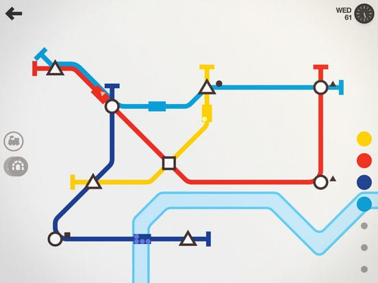 Mini Metro - Zlacnené aplikácie pre iPhone/iPad a Mac #51 týždeň