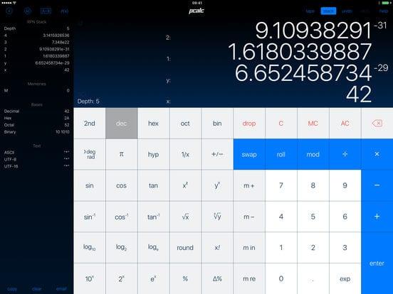 PCalc - Zlacnené aplikácie pre iPhone/iPad a Mac #51 týždeň