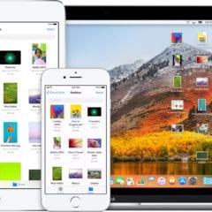 icloud drive ios 11 macos high sierra devices iphone ipad macbook 240x240 - Bezpečnostné diery Meltdown a Spectre sa týkajú všetkých Macov a iOS zariadení. Ako sa im vyhnúť?