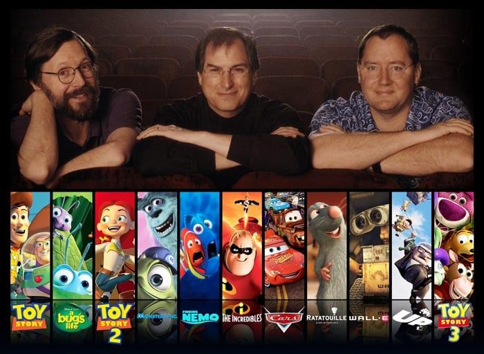 steve jobs pixar studios