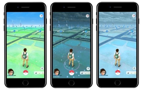 pokemon go weather2 600x379 - Pokémon GO dostane vyše 50 nových Pokémonov a real time počasie