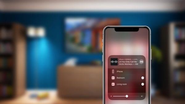 AirPlay 2 iPhone X 600x338 - iOS 11.3 a tvOS 11.3 podporujú AirPlay 2 – viackanálové prehrávanie hudby
