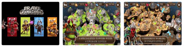 Brave Guardians TD 600x153 - Zlacnené aplikácie pre iPhone/iPad a Mac #13 týždeň