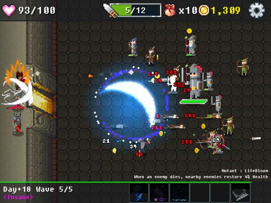 Dungeon Defense The Invasion of Heroes - Zlacnené aplikácie pre iPhone/iPad a Mac #02 týždeň