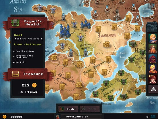 Dungeon Rushers - Zlacnené aplikácie pre iPhone/iPad a Mac #01 týždeň
